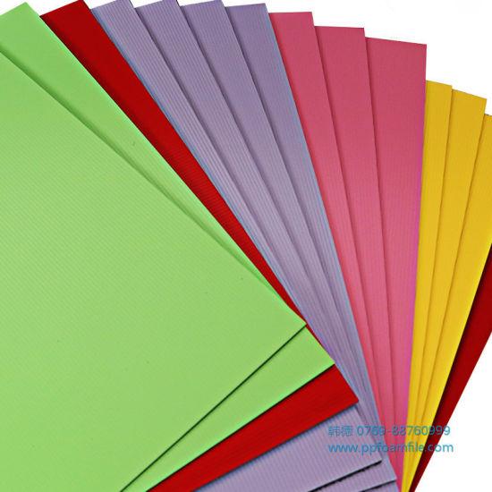 PP Foam Board Sheet Huge Consume Quantity Advertising Materials
