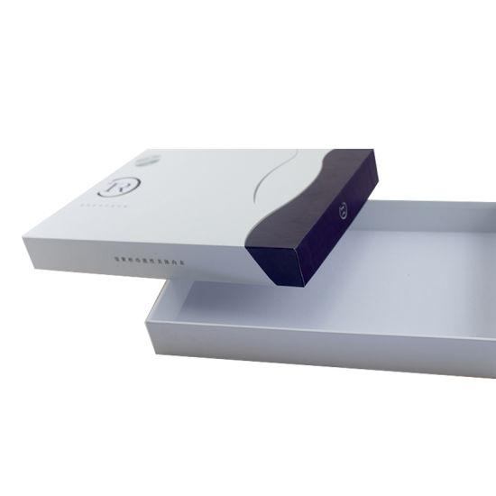 Custom Fashion Simple White Packaging Paper Box