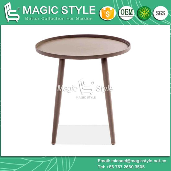 China Outdoor Modern Coffee Table Outdoor Kd Table Magic Style