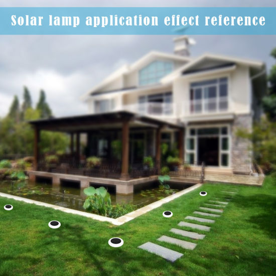 Waterproof Adorable and Dazzle Colorful Lawn LED Solar Street Garden Light pictures & photos