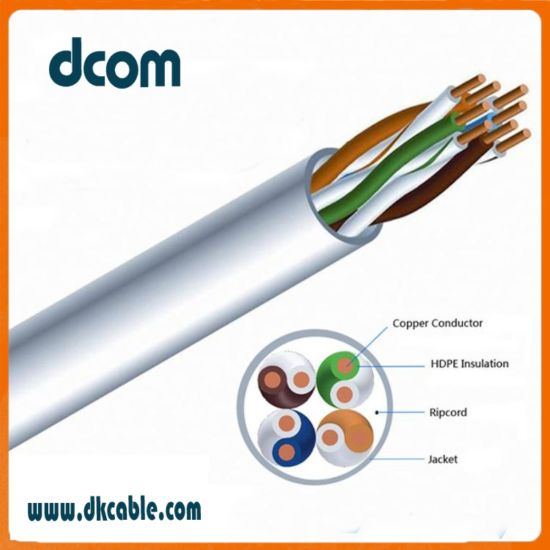 China Network Cable Wiring Cat5e Bc CCA CCAM 23AWG UTP Cables with ...