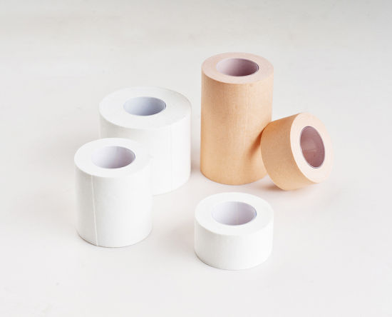 Surgical Zinc Oxide Hot-Melt Adhesive Tape pictures & photos