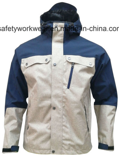 Men´ S Outerwear Hooded Waterproof Jacket