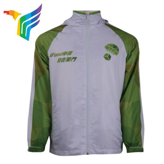 Windproof Jacket Shirts Custom Printed Sublimation Winter Tracksuits for  Men Slim Fit Windbreaker Jackets