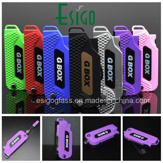 China G Box Variable Voltage 510 Preheating Cbd Vape Pen