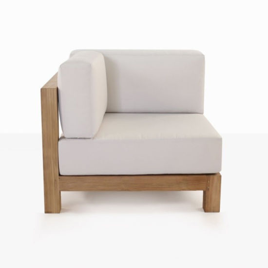 Cool Modern Ibiza Teak Style Outdoor Wood Sectional Corner Chair Sofa Camellatalisay Diy Chair Ideas Camellatalisaycom