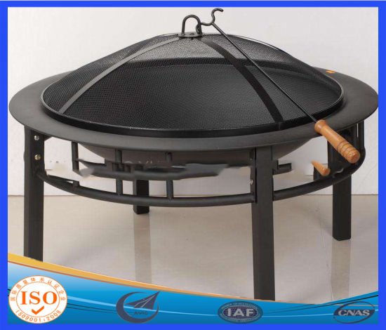 Fireplace, Backyard Patio Fire Bowl, Foldable Legs, Includes Safety Mesh Cover, Poker Stick and Carry Bag, Great for Camping pictures & photos