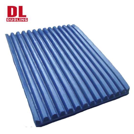High Manganese Jaw Crusher Liners Jaw Plates Crusher Spare Wear Parts