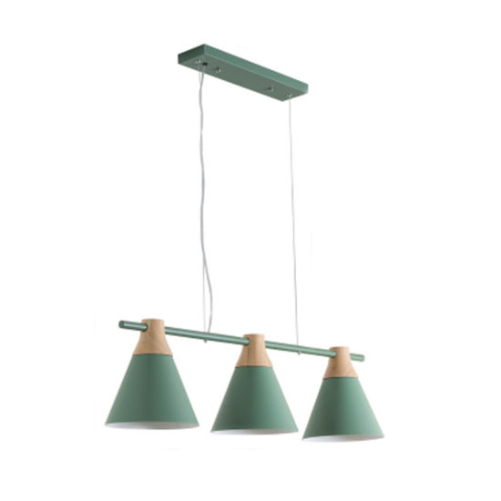 Modern Pendant Lamp with Six Colors for Indoor Decorative Light