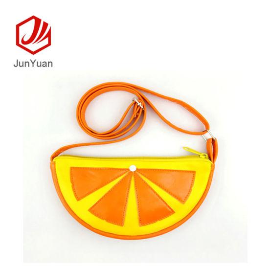 33d4ed1e281c China Junyuan Cute Orange Mini Coin Purse Baby Bag Crossbody Bag for ...