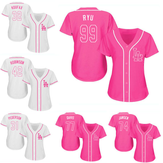 huge selection of dc05f ab8b9 China Women′s Los Angeles Dodgers Hyun-Jin Ryu Cool Base ...