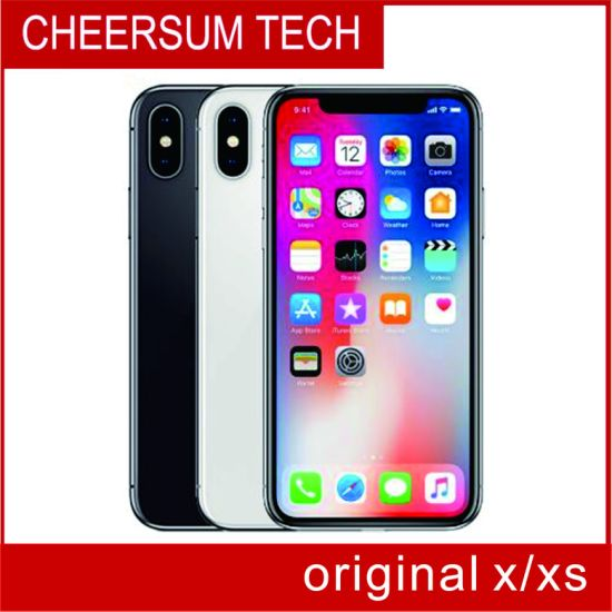 Refurbished Unlocked X 4G Lte Mobile Phone 5.8'' 12.0MP 3G RAM 64G/256g ROM Face ID Cellphone Free DHL