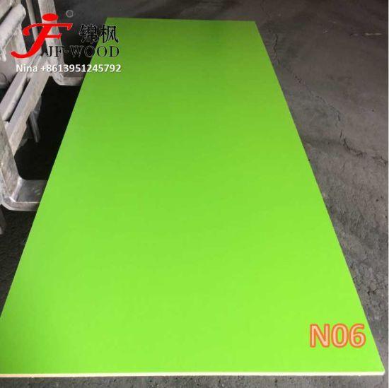 1220*2440mm 16mm Hot Sale New Color for Nigeria Melamine MDF