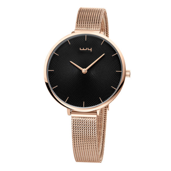 Fashion Waterproof Quality Watch Alloy Gift Women Wrist Watches (Wy-109)
