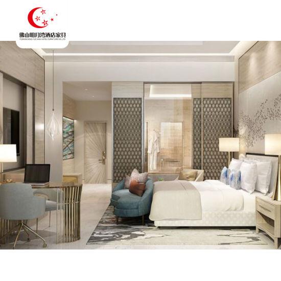 China Wholesale 5 Star Luxury Wood Bed Room Hotel Bedroom Furniture ...