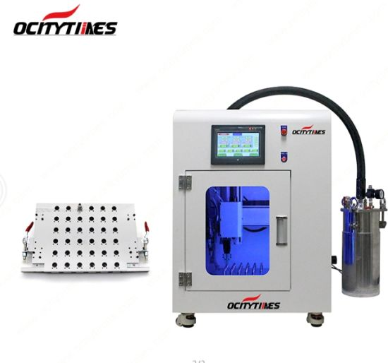 China Ocitytimes Capping Automatic CO2 Oil Cartridge Filling