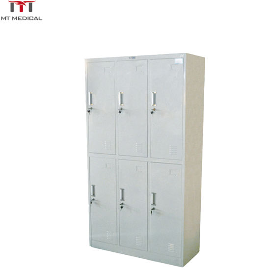 Steel Disassembly Type Six Medical Door Locker pictures & photos