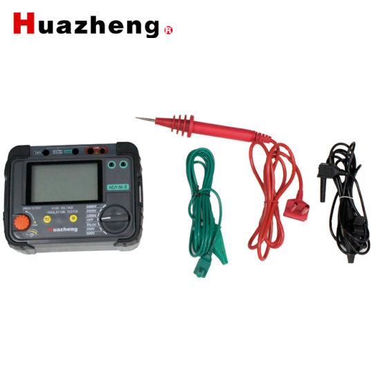 Hzjy-5K-II High Voltage Digital Insulation Resistance IR Value Measurement  Tester