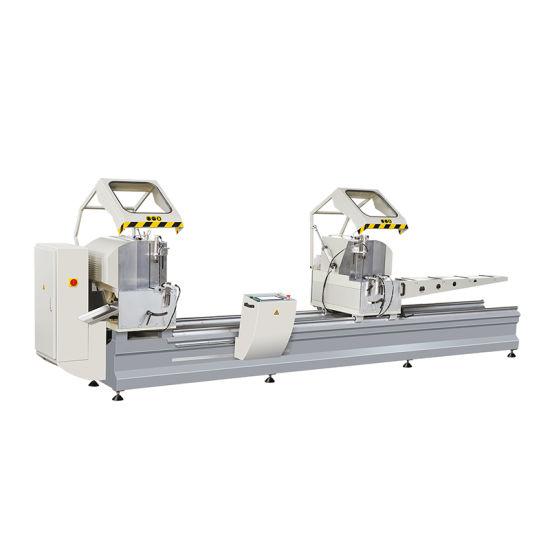 Aluminum/UPVC/PVC Profile Double Head Cutting Saw/Aluminum Profile Cutting Machine/UPVC and Aluminum Window Door Making Machine