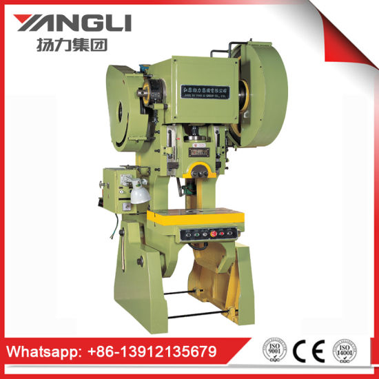 China J23 Series General Open Back Inclinable Hydraulic Press