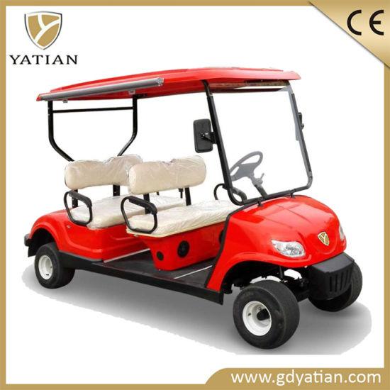 Hot Sale Low-Speed Electric Vehicle 4 Seater Mini Golf Cart Club Car