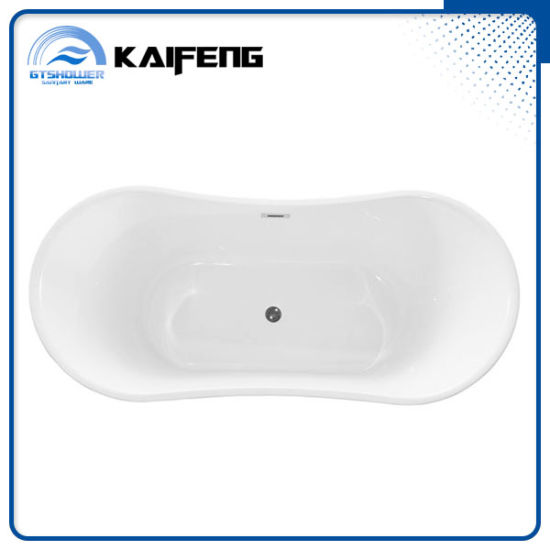 Modern Upc Acrylic Free Standing Bathtub (KF-722) pictures & photos