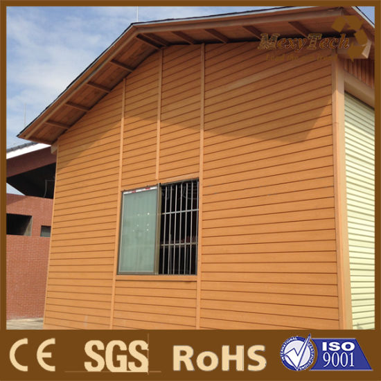 Fire Resistant Durable Wood Plastic Composite Wall Panel/WPC Cladding pictures & photos