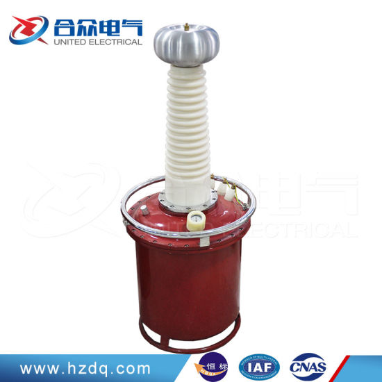 Inflated Type High Potential AC DC Testing Transformer pictures & photos