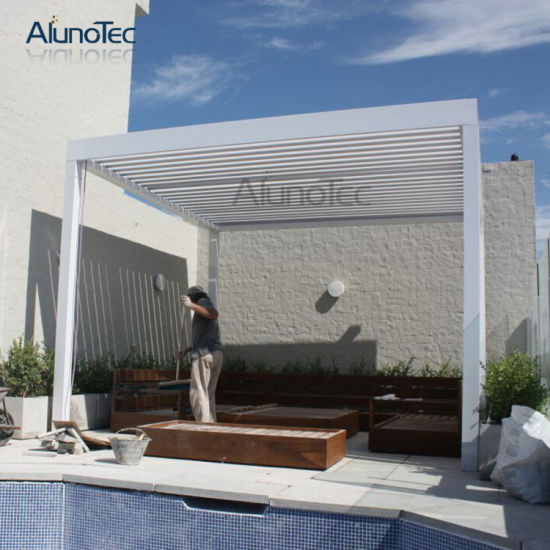 Outdoor Gazebo Manufacturers Waterproof Aluminum Pergola Kits