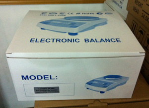 3000g 0.1g Laboratory Electronic Balance pictures & photos