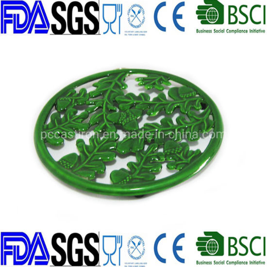Round Cast Iron Heating Pad Dia: 21cm China Factory