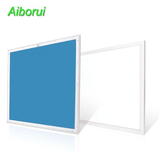 Lamp Bulb Ceiling Flat Surface Mounted Slim Frameless Solar Bar Interior Lighting Downlight 600X600 LED Panel Light