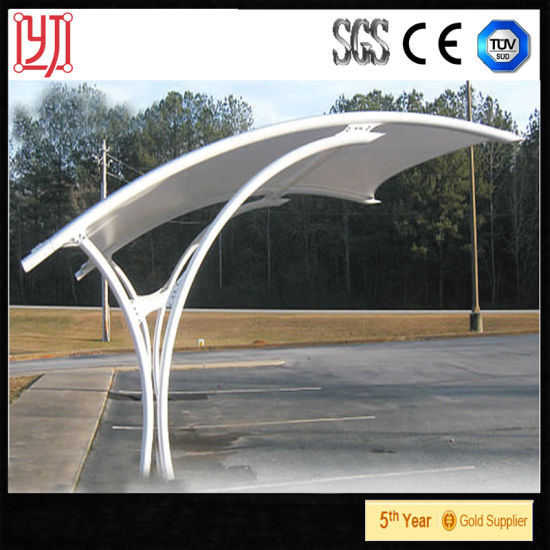 China Membrane Structure Tent 1 Car Garage Shed Car Park Tent Dubai