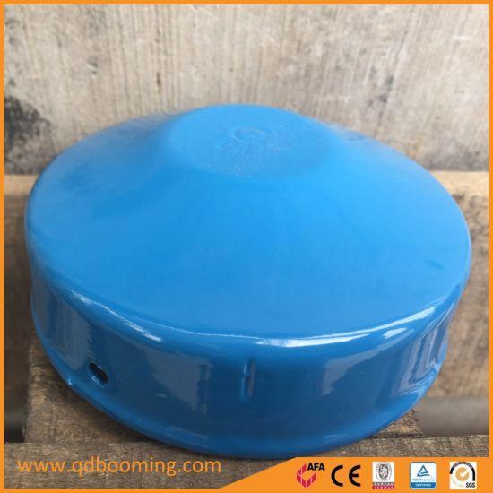 Powder Coated Galvanized Round Pipe Cap