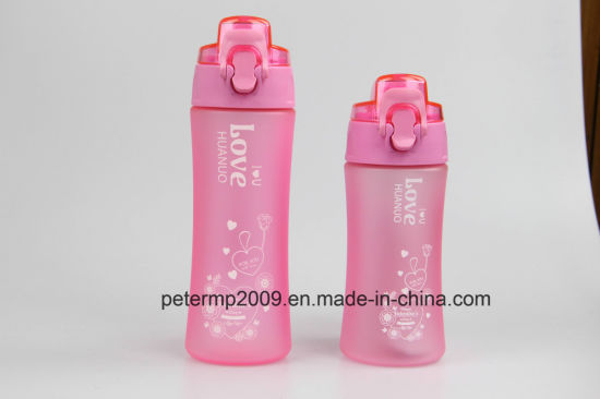 450ml Green Color Outdoor Easy-Carry Sport Water Bottle with Strap pictures & photos