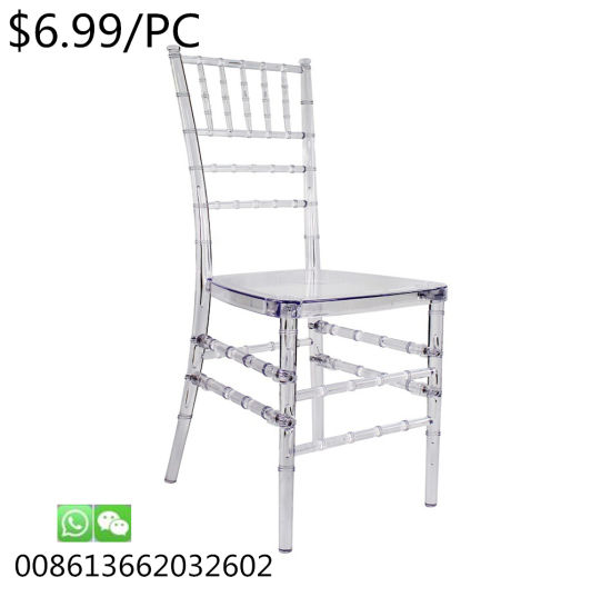 Modern Leisure Dining Metal Dining Chiavari Tiffany for Hotel Chair