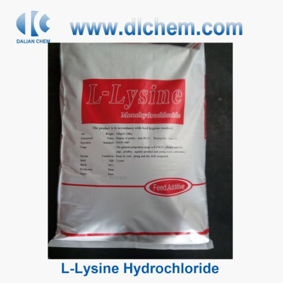 Feed Grade CAS No 657-27-2 L-Lysine Hydrochloride with Great Quality pictures & photos