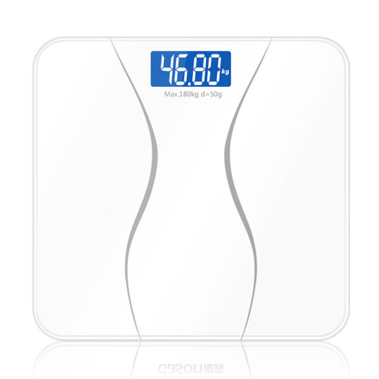 Electronic LCD Display Weights Bathroom Weighing Machine Personal Body Scale