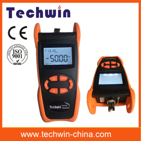 Fiber Optic Test Equipment Techwin Power Meter Tw3208e pictures & photos