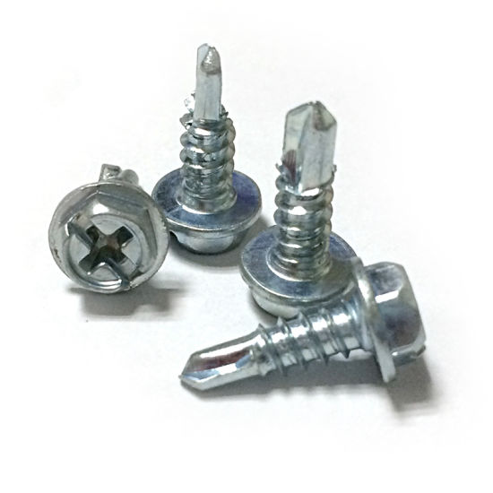 Hex Washer Head Self Drilling Screw Manufacturer pictures & photos