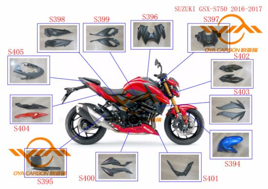 Carbon Fiber Parts for Latest Motorcycle Models