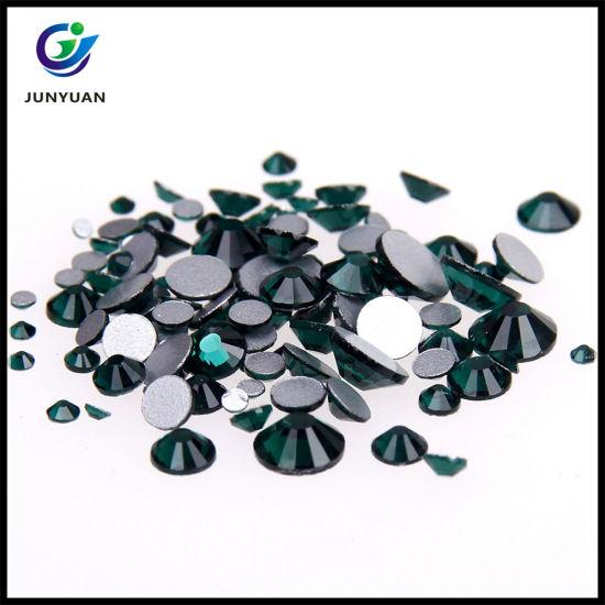 22a8198a6e60e China Czech Crystal Rhinestones Top Quality Flatback Iron Hotfix ...