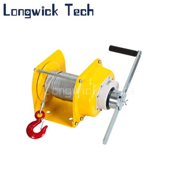 Heavy Duty Hand Manual Winch Trailer Lifting Winch with Hook