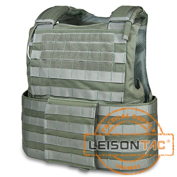 Bullet Proof and Vest with Quick Release System