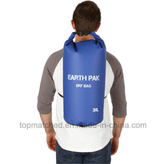 Custom Logo PVC Tarpaulin Waterproof Dry Duffle Bag with 10L Dry Bag for Swimming Drifting pictures & photos