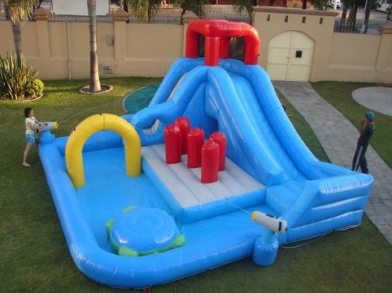 Inflatable Water Park with Pool for Sale