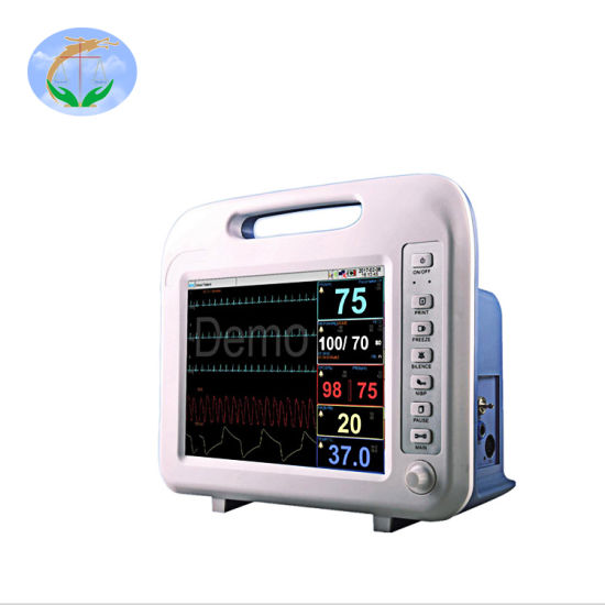 Yj-F6 Surgical Equipment ICU Cardiac Etco2 Blood Pressure Portable Patient Monitor pictures & photos