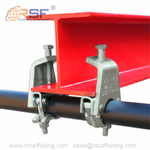 Steel Roof Support Beams Scaffolding Beam Clamp