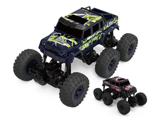 968612b-Big 2.4G Electric 6 Wd Car Plastic Remote Control off-Road Vehicle RC Truck Toys pictures & photos