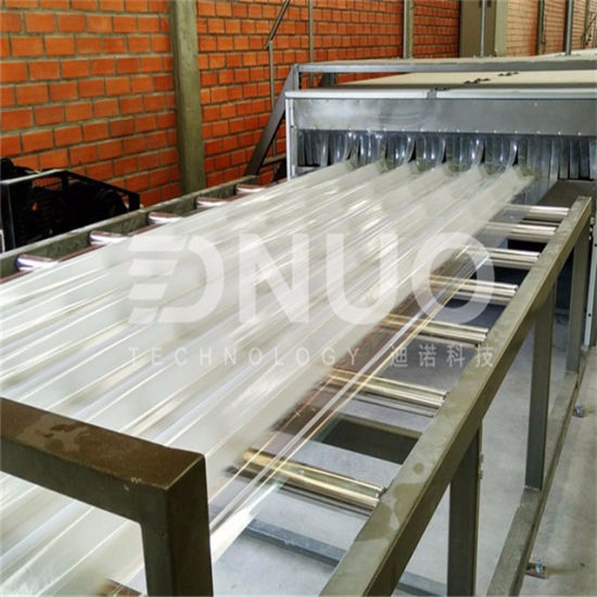 Fiberglass Corrugated FRP GRP Roof Sheet Roll Forming Machine